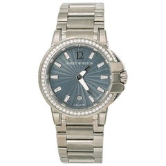 Harry Winston Ocean Sport Zelium 411LQ36Z Womens Watch with Box and Papers