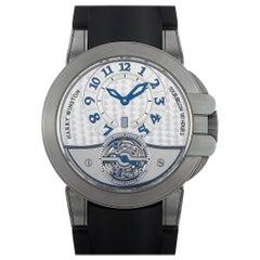 Harry Winston Ocean Tourbillon Watch 400-MAT44Z
