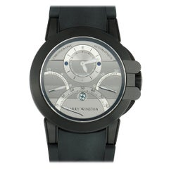 Harry Winston Ocean Triple Retrograde Chronograph Watch OCEACT44ZZ006