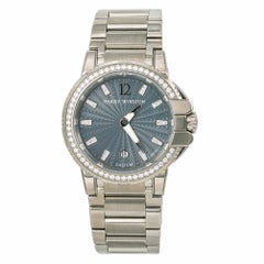 Harry Winston Ocean 10434, Silver Dial Certified Authentic