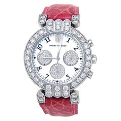 Harry Winston Premier 200UCQ32W, Mother of Pearl Dial, Certified