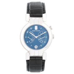 Harry Winston Premier Chronograph White Gold Watch