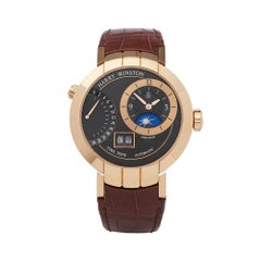 Harry Winston Premier Excenter Timezone 18K Rose Gold PRNATZ41RR002