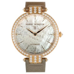 Harry Winston Premier Ladies Automatic Watch PRNAHM36RR001