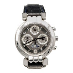 Harry Winston Premier Platinum Limited Ed. Perpetual Calendar Chronograph Watch
