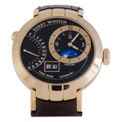 Harry Winston Premier PRNATZ41RR002, Black Dial