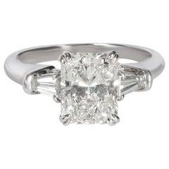 Harry Winston Radiant Diamond Engagement Ring in Platinum GIA F VVS1 2.41 Carat