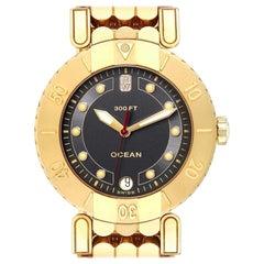Harry Winston Submariner Ocean 18 Karat Yellow Gold Men's Watch