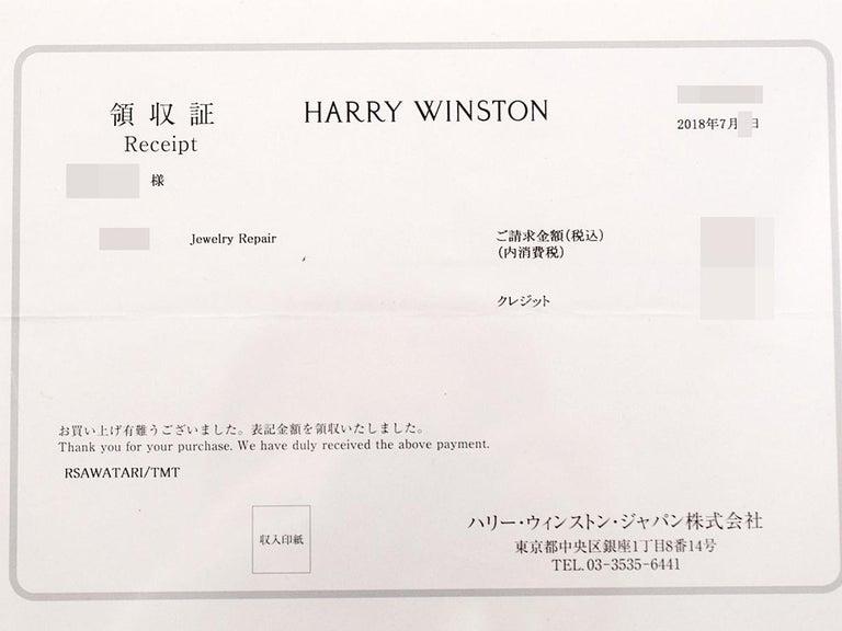 Harry Winston the One Round Brilliant Diamond Micropavé Platinum Ring US 4.25 For Sale 7