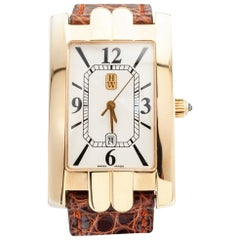 Harry Winston Yellow Gold Wristwatch