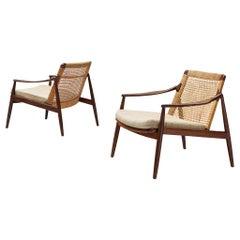 Hartmut Lohmeyer for Wilkhahn Pair of Lounge Chairs