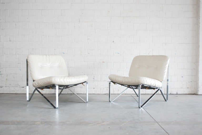 Mid-Century Modern Hartmut Lohmeyer Pair of Lounge Chairs for Mauser Werke Waldeck, 1960 For Sale