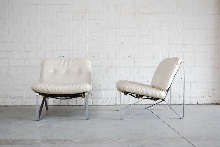German Hartmut Lohmeyer Pair of Lounge Chairs for Mauser Werke Waldeck, 1960 For Sale