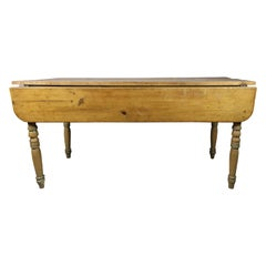 Harvest Table Pine Drop-Leaf Dining Table