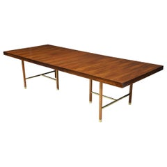 Harvey Probber Brazilian Rosewood Dining Table