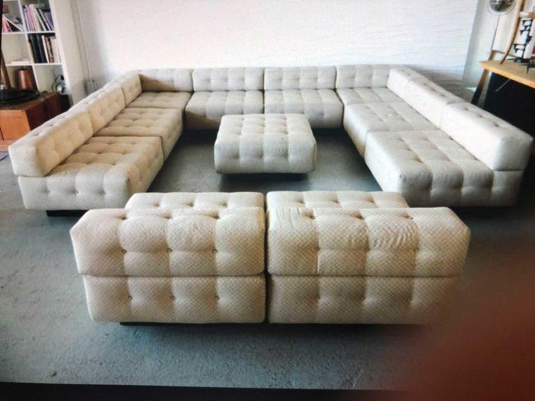 Harvey Probber 11 Piece Cubo Modular Sofa For Sale At 1stdibs