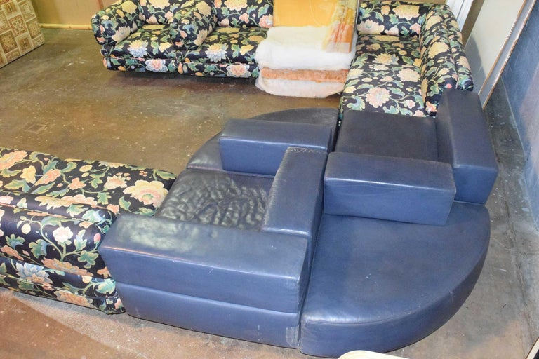 Mid-Century Modern Harvey Probber 11 Piece Cubo Modular Sofa For Sale