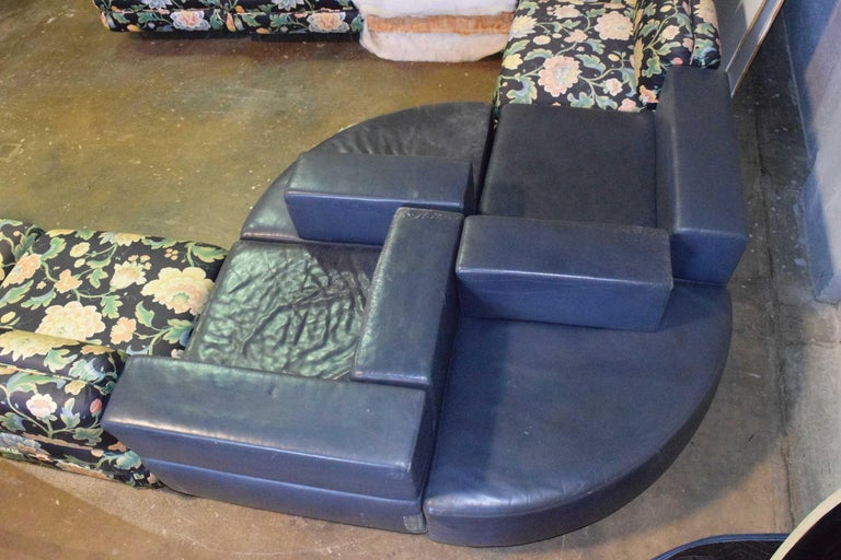American Harvey Probber 11 Piece Cubo Modular Sofa For Sale