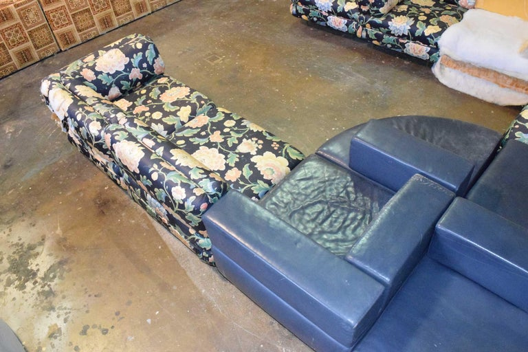20th Century Harvey Probber 11 Piece Cubo Modular Sofa For Sale