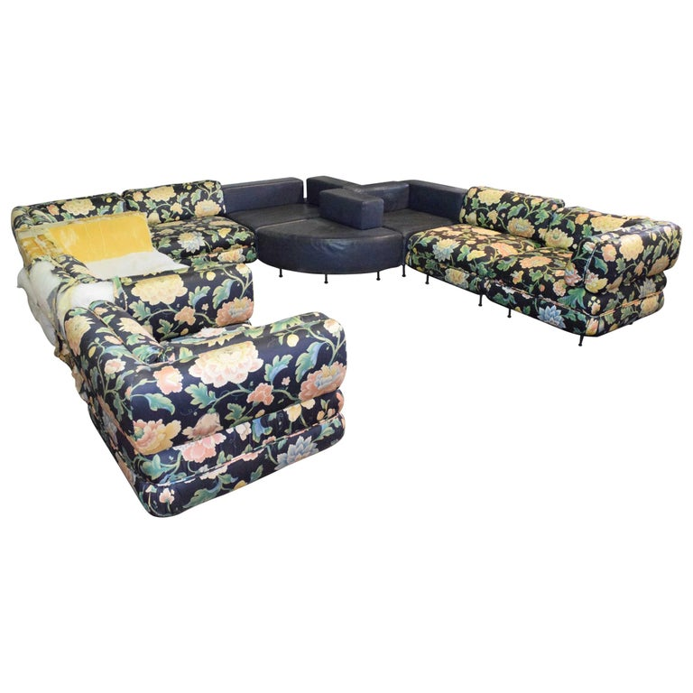 Harvey Probber 11 Piece Cubo Modular Sofa For Sale