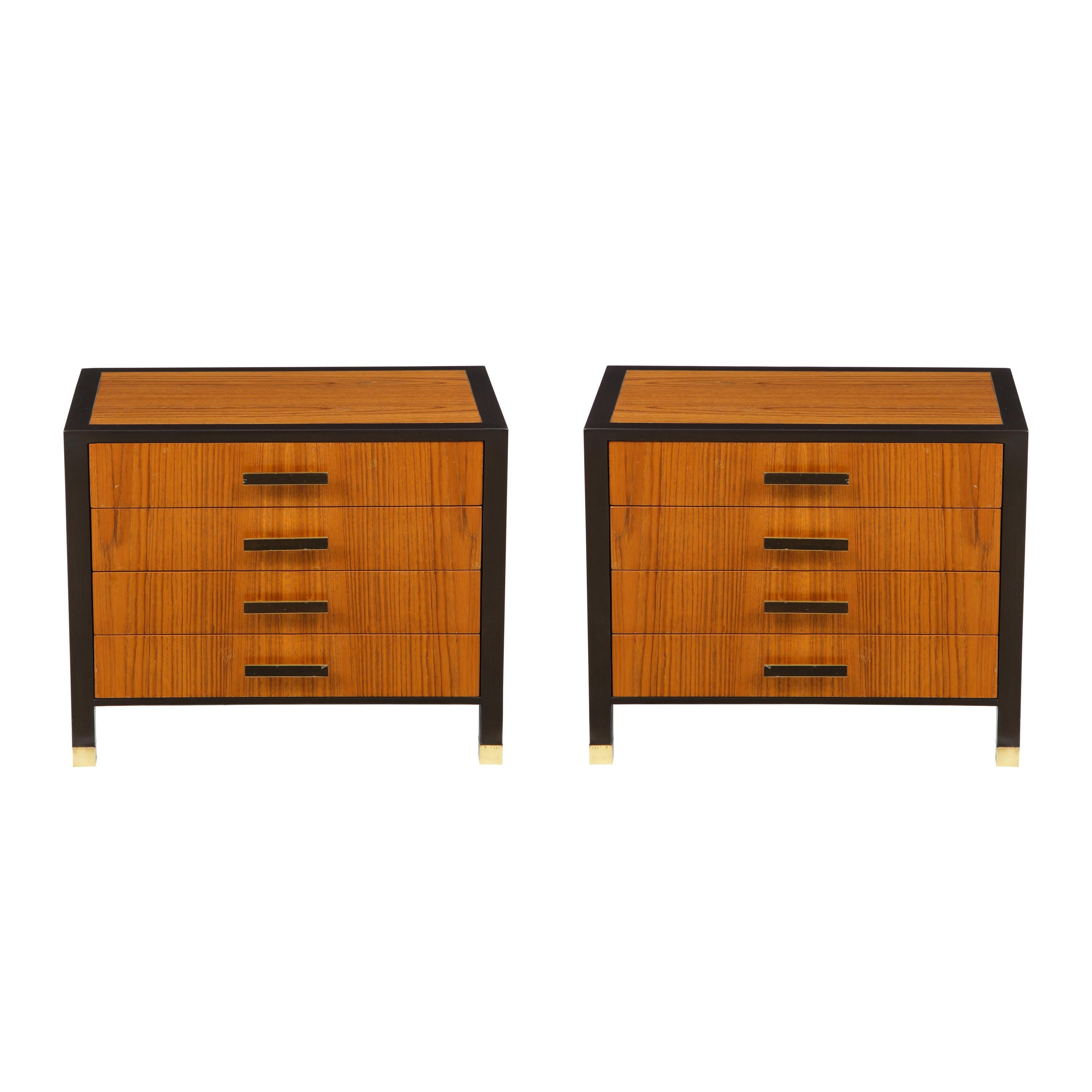 Harvey Probber 4-Drawer Nightstands