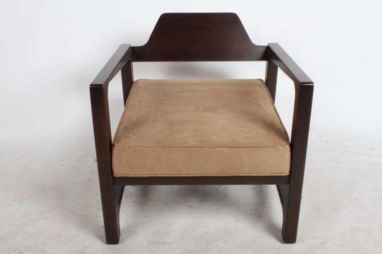 1950s Harvey Probber Asymmetrical Lounge Chair For Sale