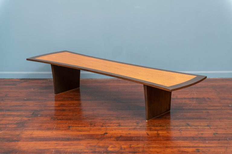 Mid-Century Modern Harvey Probber Bow Tie Coffee Table For Sale