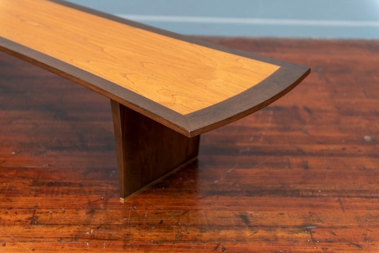Harvey Probber Bow Tie Coffee Table In Good Condition For Sale In San Francisco, CA