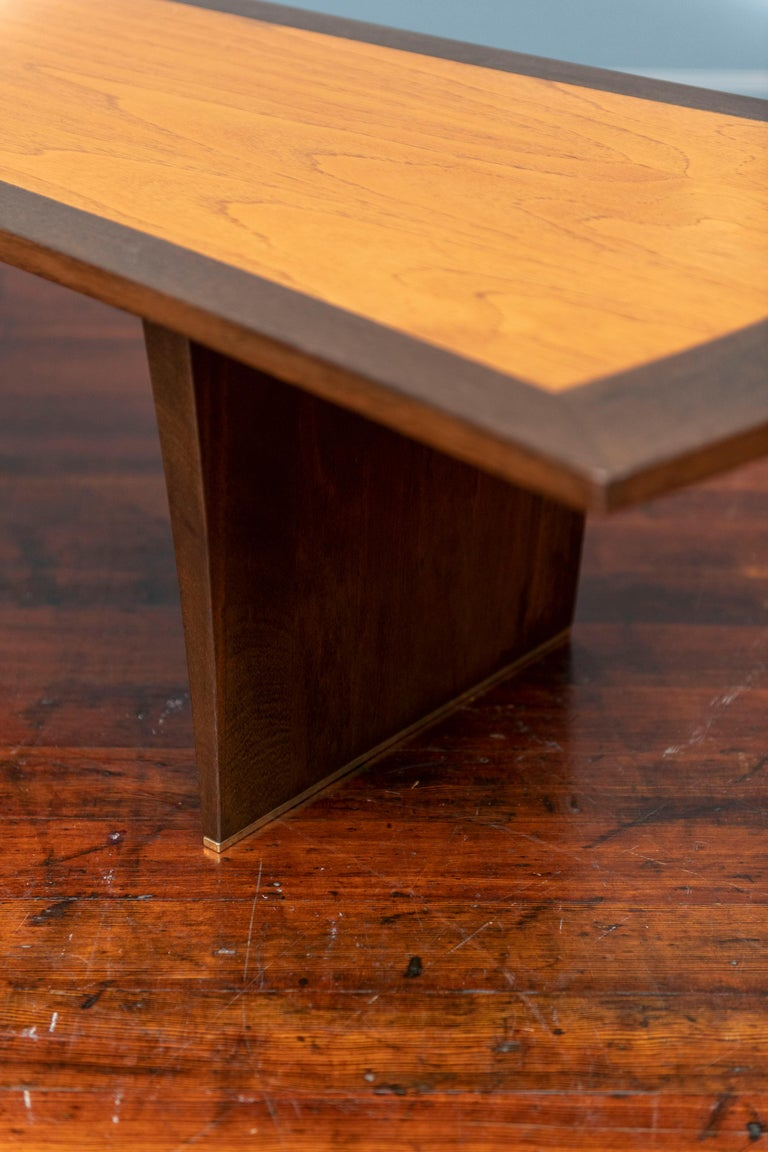 Mid-20th Century Harvey Probber Bow Tie Coffee Table For Sale