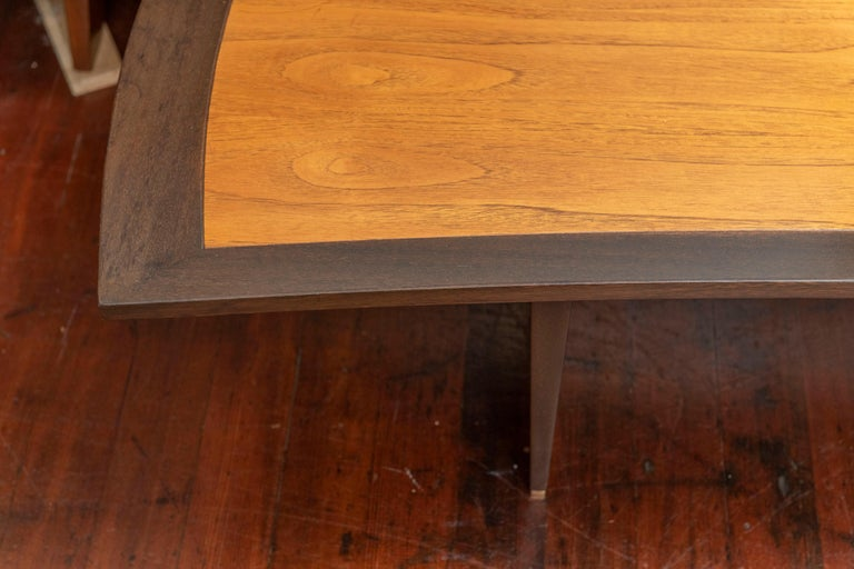 Harvey Probber Bow Tie Coffee Table For Sale 1
