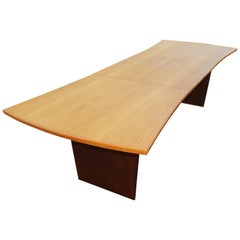 Harvey Probber Bow Tie Dining Table with 2 Leaves