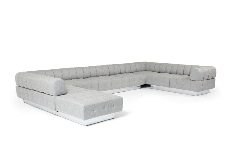 Mid-Century Modern Harvey Probber Cubo Sectional Sofa For Sale
