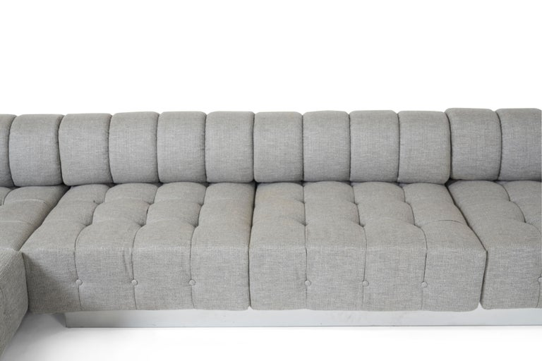 Mid-20th Century Harvey Probber Cubo Sectional Sofa For Sale