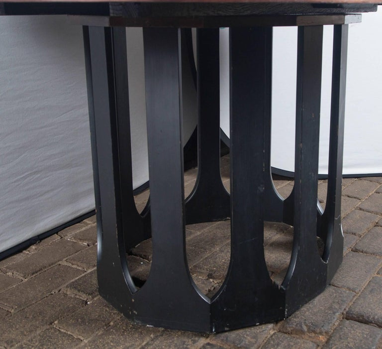 Mid-20th Century Harvey Probber Dining Table with Two Leaves For Sale