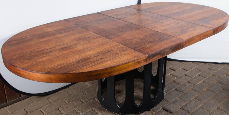 Harvey Probber Dining Table with Two Leaves For Sale 4