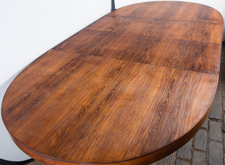 Harvey Probber Dining Table with Two Leaves For Sale 5