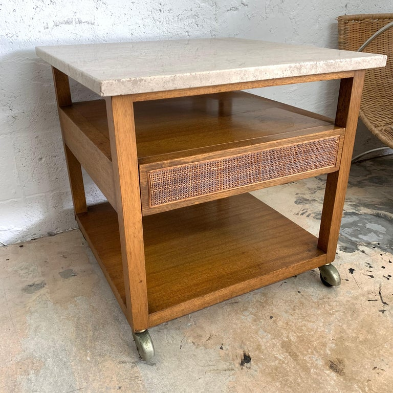 Mid-Century Modern Harvey Probber End or Side Table, Signed For Sale