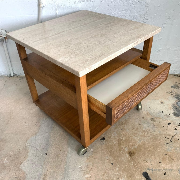 American Harvey Probber End or Side Table, Signed For Sale