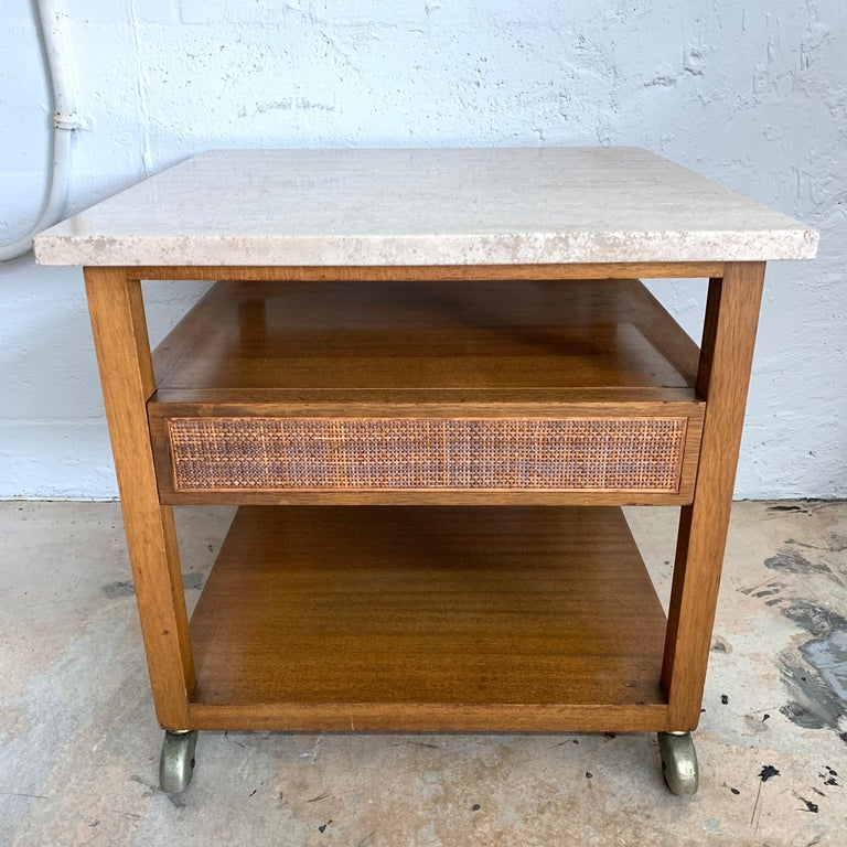 Harvey Probber End or Side Table, Signed In Good Condition For Sale In Miami, FL