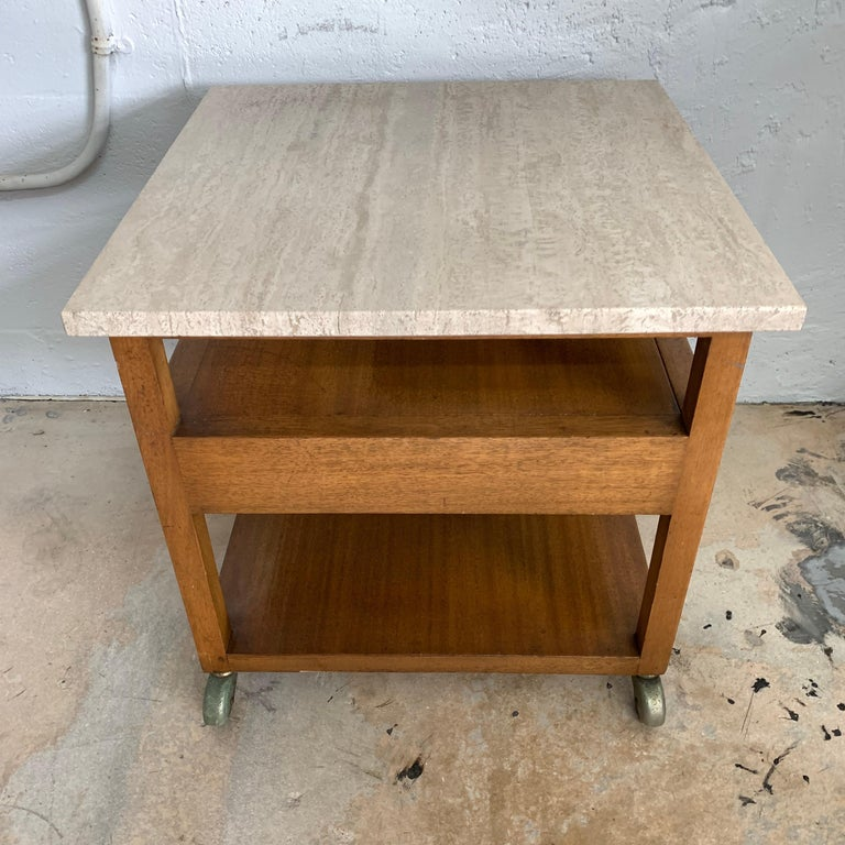 20th Century Harvey Probber End or Side Table, Signed For Sale