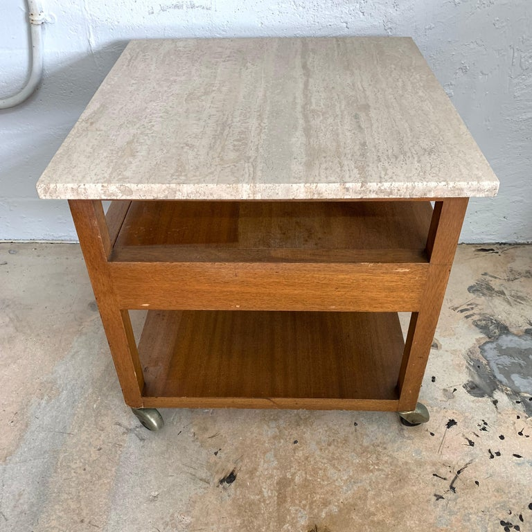 Harvey Probber End or Side Table, Signed For Sale 1