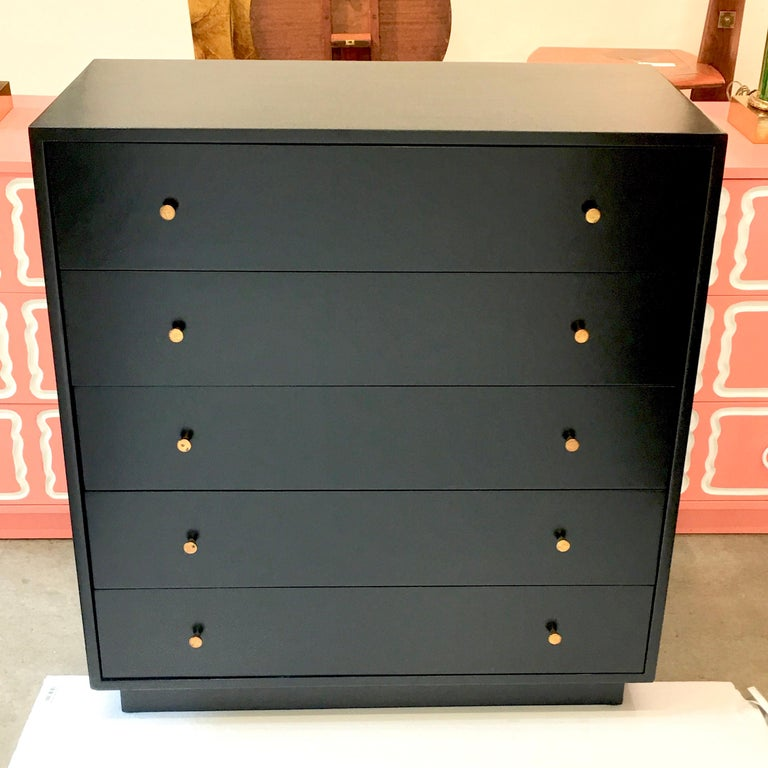 Mid-Century Modern Harvey Probber Five-Drawer Chest For Sale