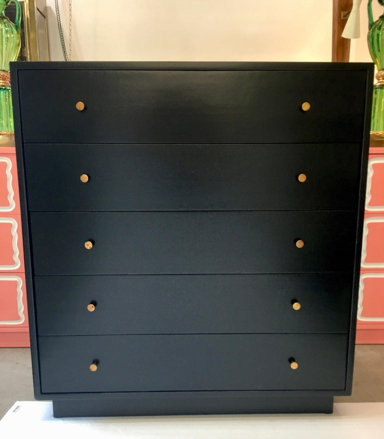 Mid-20th Century Harvey Probber Five-Drawer Chest For Sale