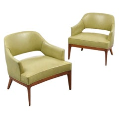 Harvey Probber Low Lounge Chairs