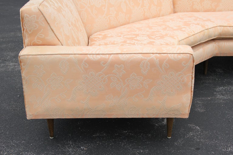 Mid-20th Century Harvey Probber Mid-Century Modern Nuclear Sert Two-Piece Sectional Sofa For Sale