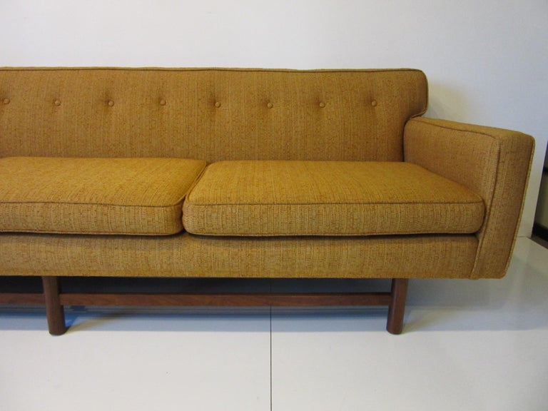 Mid-Century Modern Mid Century Sofa in the style of Harvey Probber For Sale
