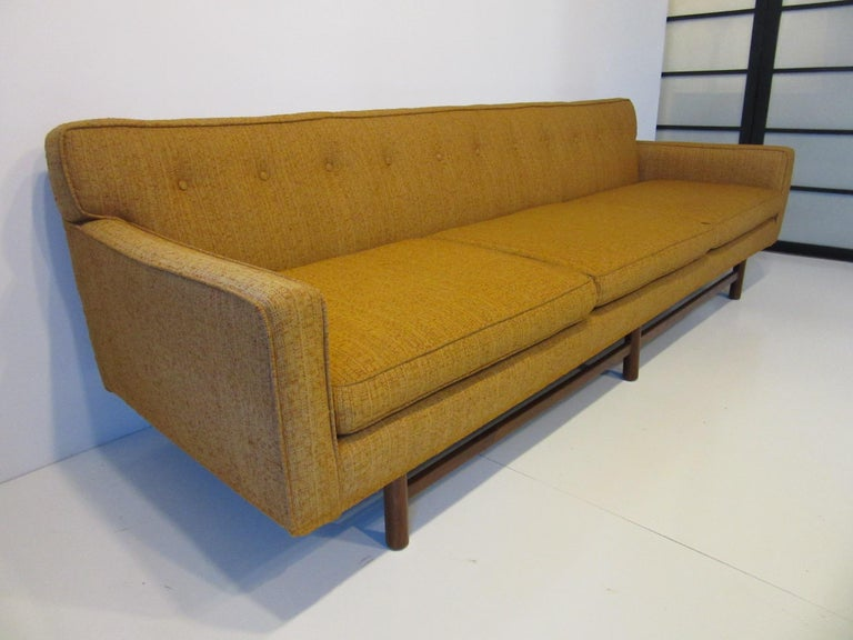 North American Mid Century Sofa in the style of Harvey Probber For Sale