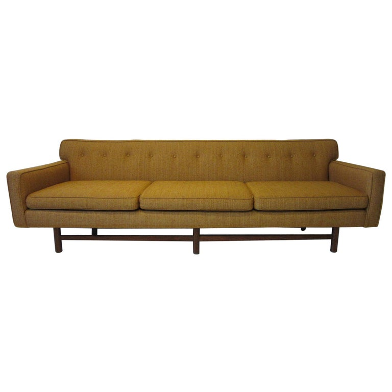 Mid Century Sofa in the style of Harvey Probber For Sale