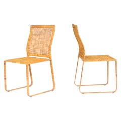 Harvey Probber Pair of Chairs, Artisan Collection, 1970s