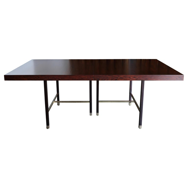 Harvey Probber Rosewood Dining Table, circa 1950 For Sale